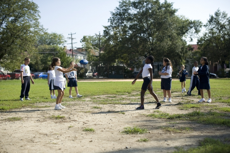 Lyles Crouch Playground in Alexandria, VA